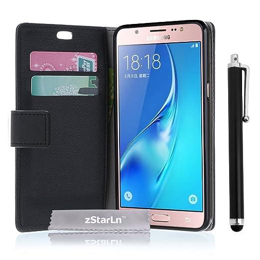 74 opinioni per zStarLn® nero luxury Portafoglio Protettiva Custodia in pelle per Samsung Galaxy