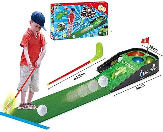 hyy Juego De Golf para Niños - Club Trolley - Juego De Jardín para Niños Al Aire Libre -