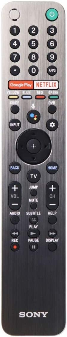 Sony Genuine OEM LED Smart TV Remote Control (RMF-TX600U)