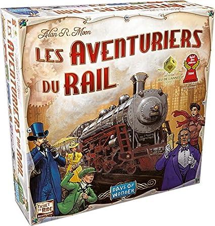Days of Wonder Les Aventuriers du Rail New York