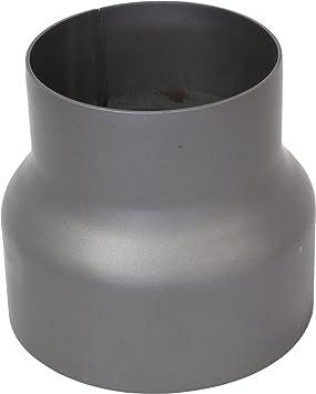 Reducción Reductor para tubo de chimenea - 150 A 120 mm: Amazon.es: Jardín