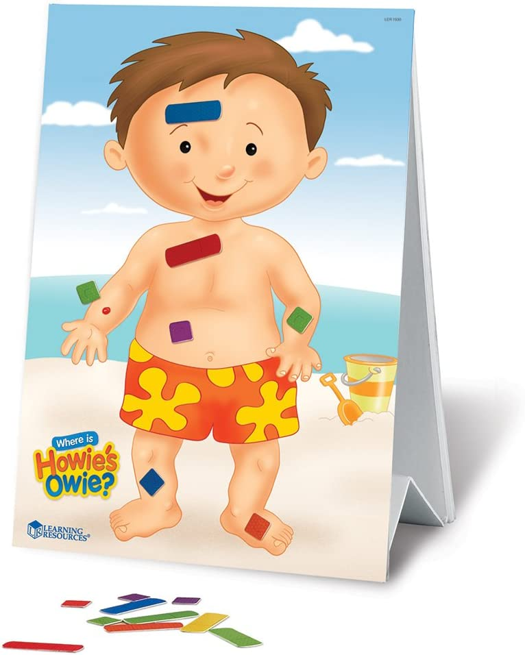 Learning Resources Where Is Howie's Owie?