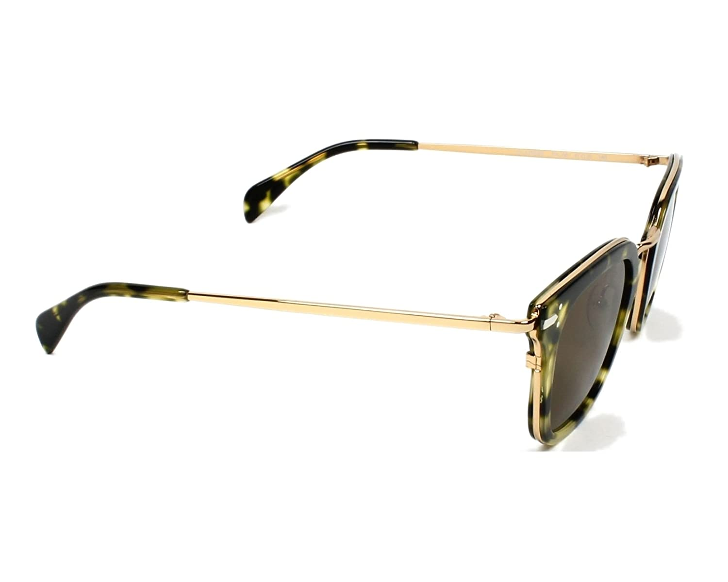e2c7f99672 Amazon.com  Celine 41402S J1LA6 Black Gold Print 41402S Square Sunglasses  Lens Category  Celine  Clothing