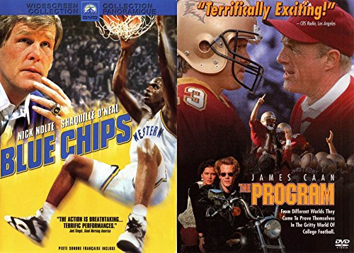 - Seedy Underworld of Collegiate Sports Double Feature Set: BLUE CHIPS & THE PROGRAM (Sports film DVD bundle)