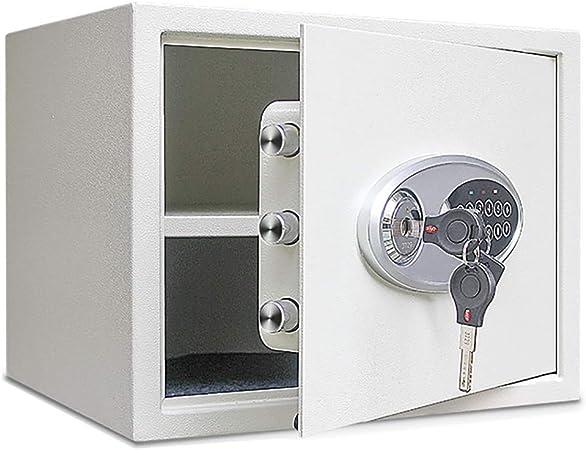 Caja fuerte YXX Cajas Fuertes de gabinete electrónico Gris para Dinero, computadora portátil y Documentos Grande con Teclado Digital y Bloqueo de Teclas Dobles (Size : 35×25×25cm): Amazon.es: Hogar