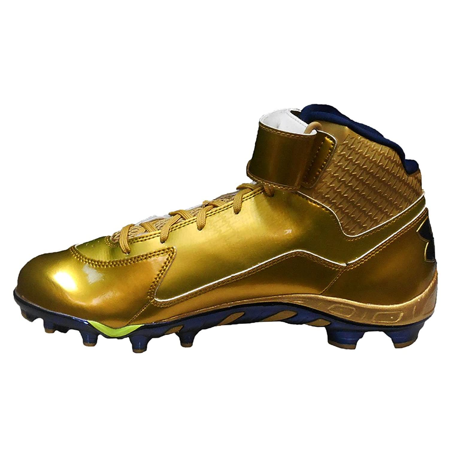 UA Under Armour Team Spine Fierce Molded Football Cleats (12.5, Metallic  Gold/Metallic Gold/Midnight Navy): Amazon.ca: Shoes & Handbags