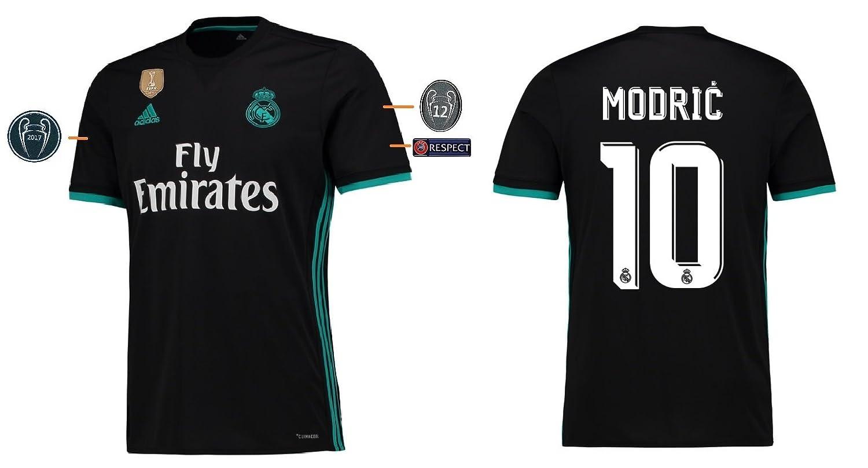 Trikot Kinder Real Madrid 2017-2018 Away UCL - Modric 10