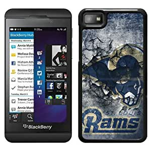 St Louis Rams 14 Black New Design Phone Case For Blackberry Z10 Case