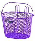 Point VR Colour 05107800 Children's Bicycle Basket 25 x 16 x 16 cm Purple