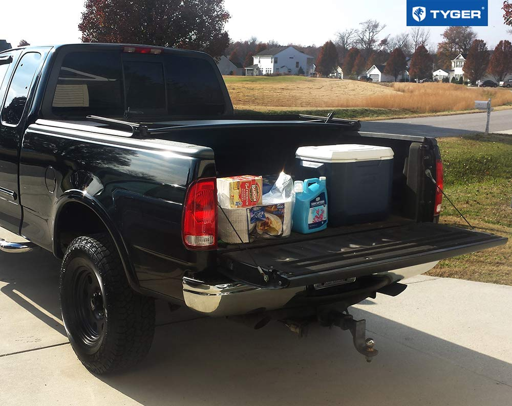 Tyger Auto TG-BC3F1023 Tri-Fold Pickup Tonneau Cover ; 04 F-150 Heritage 6.5 feet 78 inch NOT Flareside Fits 97-03 Ford F-150