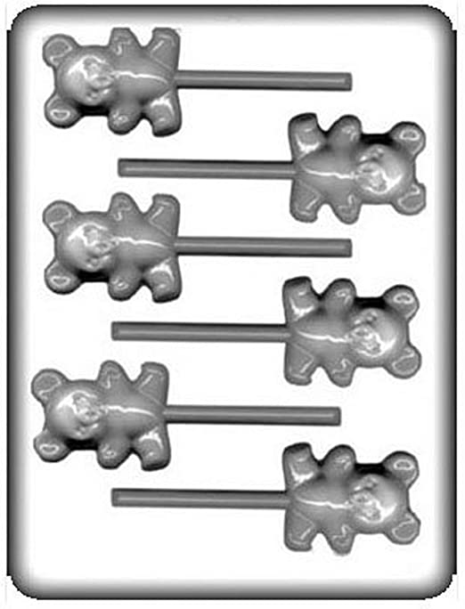 CK Products 8H-11275 Hard Candy Mold White