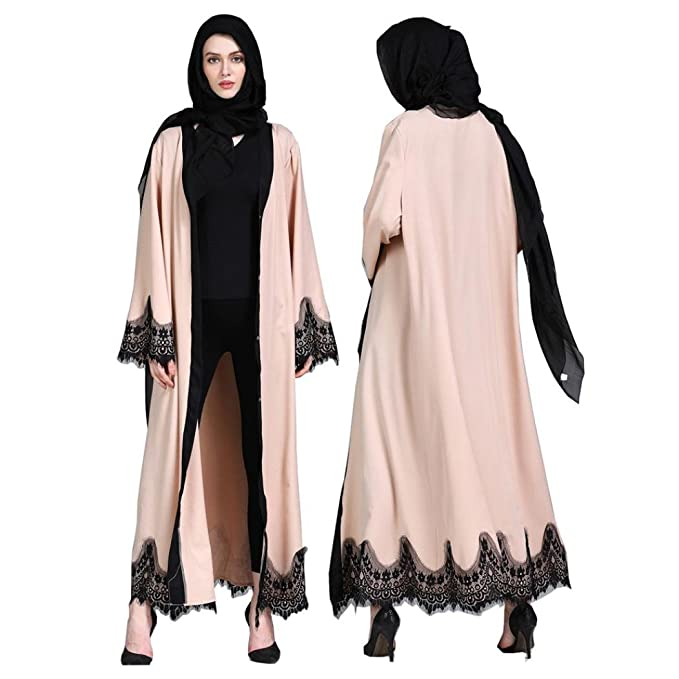 Amazon.com: Pandaie - Kimono para mujer, chaqueta larga de ...