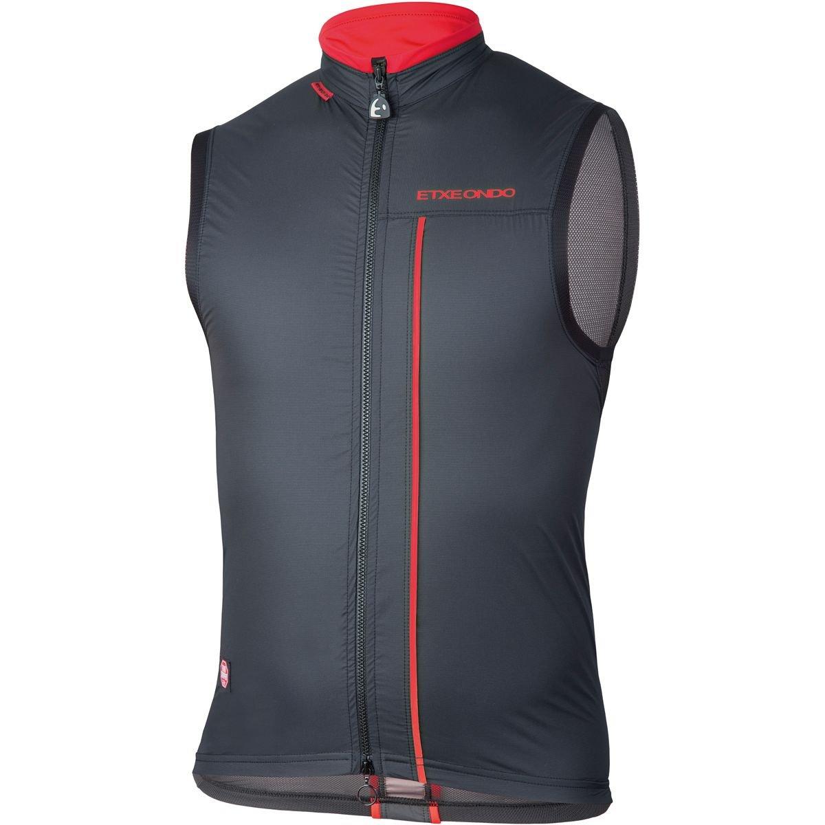 ETXEONDO Gilet Ligero Vest Men schwarz ROT 2018 Fahrradweste