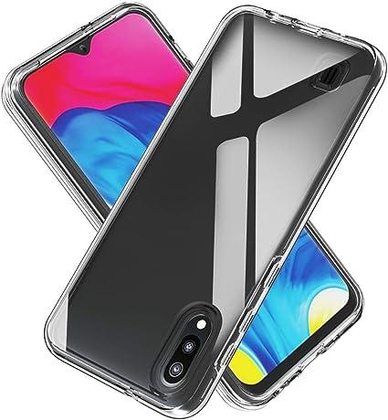 SHUYIT Samsung Galaxy M10 / A10 Funda, Transparente Cáscara Case ...