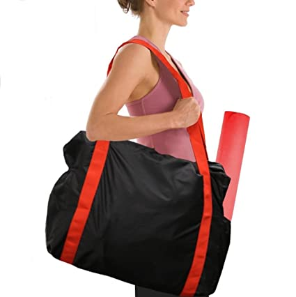 Yoga Mat Carrier Gym Bag With Side Pockets Durable Canvas Carry Strap Drawstring Backpack For Yoga Pilates Gym Fitness Training Pretty And Colorful Ropa, Calzado Y Complementos