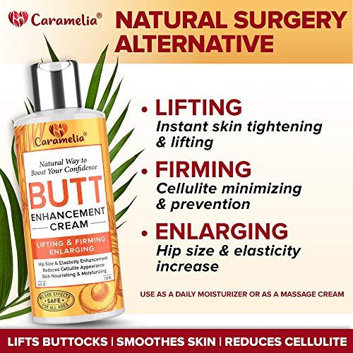 Butt Enhancement Cream - Made in USA - Butt Enhancer for Big Butt - Butt Enlargement Cream for Women - Twerking Butt Cream - Buttocks Enhancement Cream - Bigger Butt Cream for Women