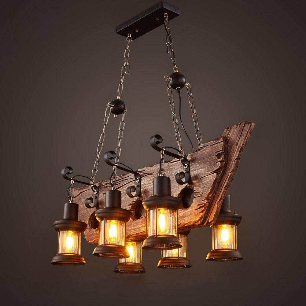 Dmmss sailing ship wood chandelier sail boat wood pendant lamp dmmss sailing ship wood chandelier sail boat wood pendant lamp chandelier cargo boat wood materials lamp amazon arubaitofo Choice Image