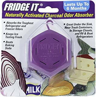 product image for Innofresh Fridge-It- Refrigerator Deodorizer, Odor Absorber and Air Freshener- 1 Pack. Natural Activated Charcoal and Fragrance Free, Lasts up to 6-Months
