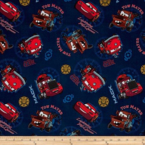 Disney Cars Cotton Fabric - 9