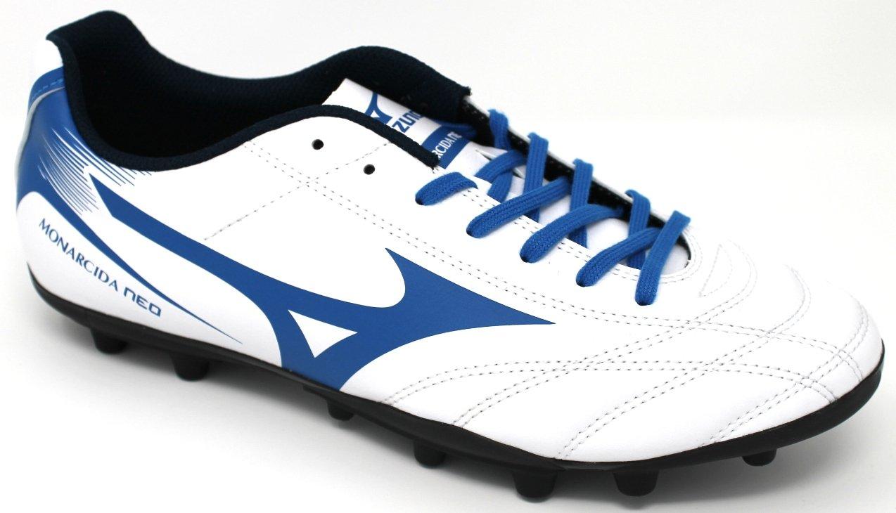 Mizuno Schuhe Calcio  Herren - Monarcida Neo AG - P1GA1725-27 - Weiß-NAVY-Blau-47