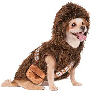 Disfraz para mascota - Chewbacca de Star Wars, perro talla M ...