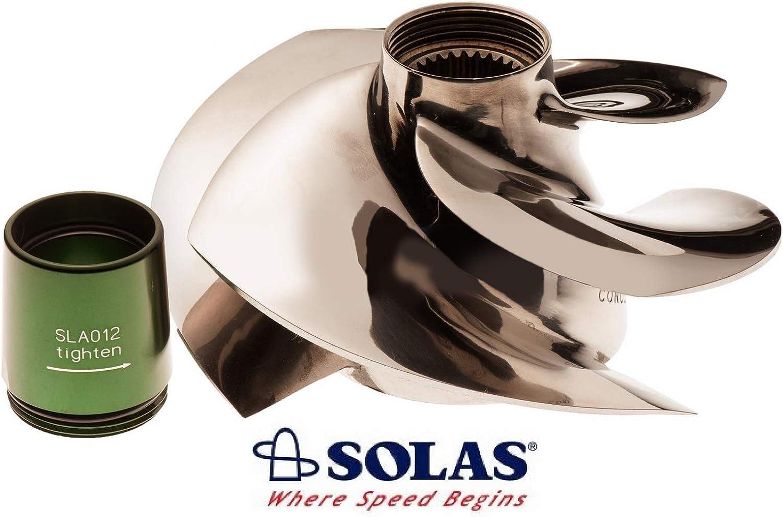 Solas Sea Doo 4-Tec 215 Impeller SRX-CD-13//18 With Wear Ring GTX RXP RXT Wake