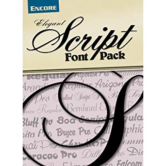 Font Collection Elegant Script PC Download