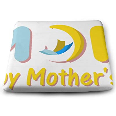 Sanghing Customized Happy Mothers' Day Love 1.18 X 15 X 13.7 in Cushion, Suitable for Home Office Dining Chair Cushion, Indoor and Outdoor Cushion.: Home & Kitchen