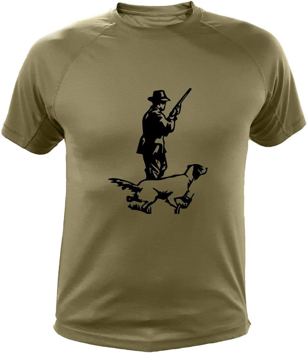 Camiseta de Caza, Cazador y Perro, Regalos para Cazadores