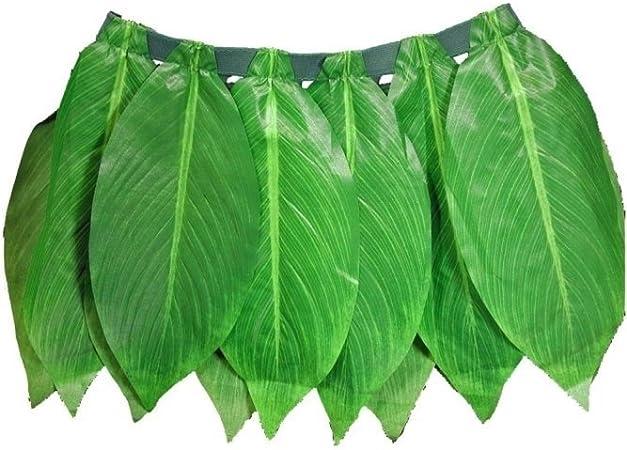 Falda de hoja de plátano, verde: Amazon.es: Juguetes y juegos