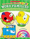 Turn-to-Learn Wheels in Color Word Families: 25 Ready-to-Go Manipulative Wheels That Help Children Practice and Master Key Phonograms to Become Successful Readers