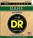 DR Strings Rare - Phosphor Bronze AcousticHex Core 11-50