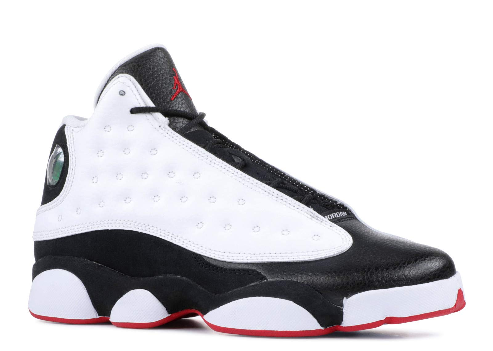 Jordan Retro 13''He Got Game White/True Red-Black (Big Kid) (5.5 M US Big Kid)