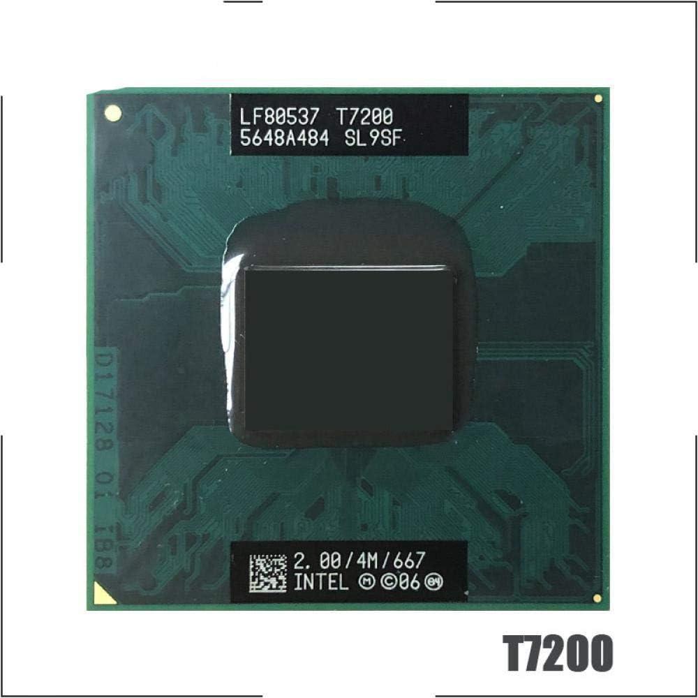 Intel Core 2 Duo T7200 SL9SF 2.0 GHz Dual-Core Dual-Thread CPU Processor 4M 34W Socket M MPGA478MT