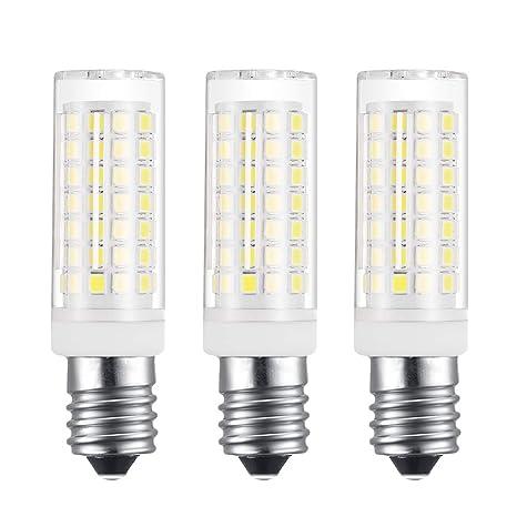 EKSAVE - Paquete de 3 E14 Base Bombillas LED de bajo consumo de energía SES -