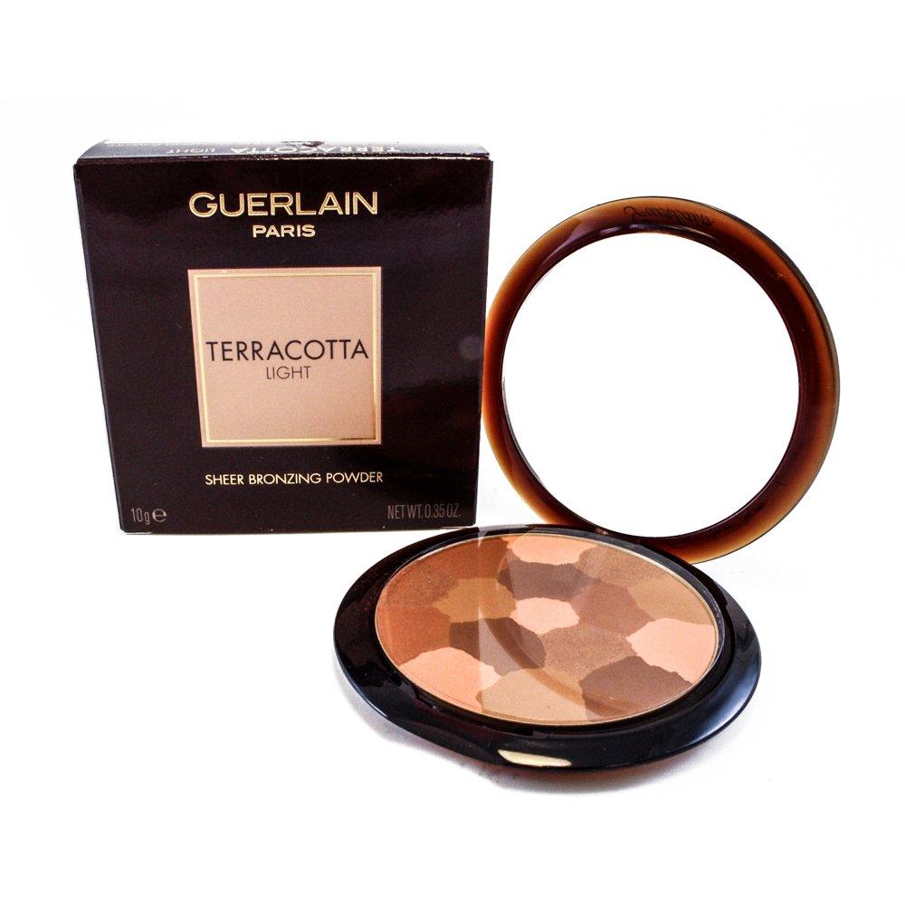 Guerlain Terracotta Light Sheer Bronzing Powder for Women, 03 Brunettes, 0.35 Ounce