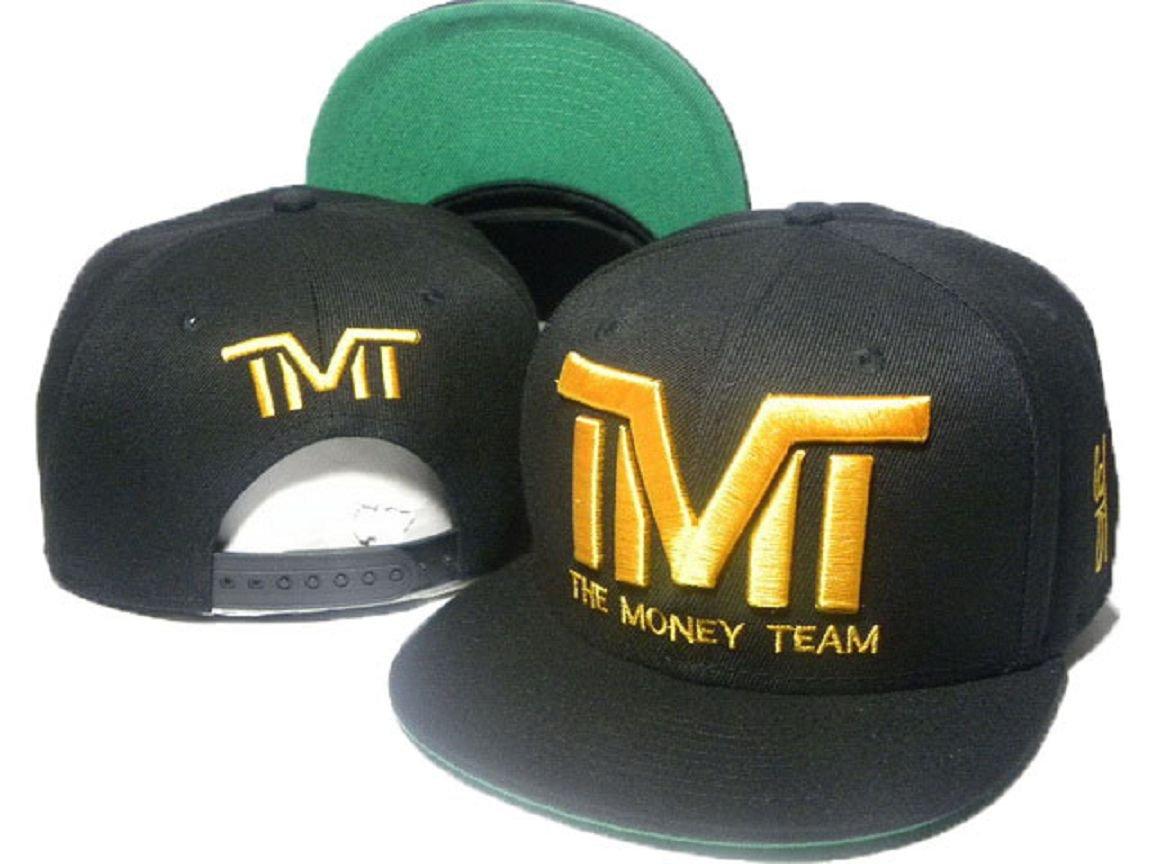 TMT El Equipo de dinero negro Snapback Oro Logo: Amazon.es: Deportes y aire libre