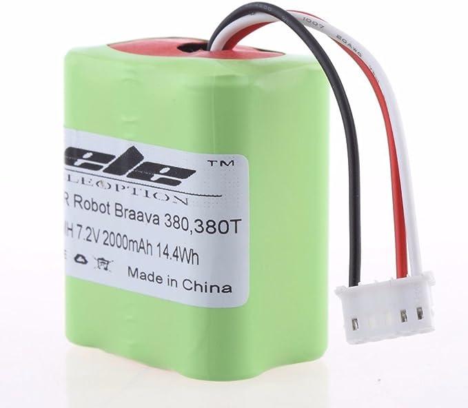Batterie 7.2V 1500mAh pour iRobot Braava 380T Société Française