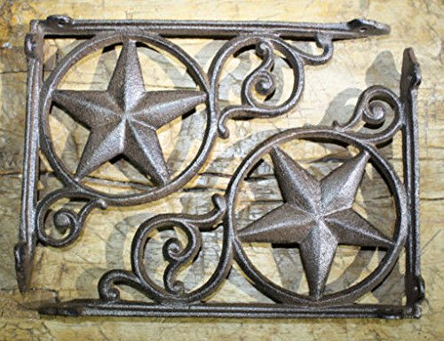 rustic cast iron star - 8