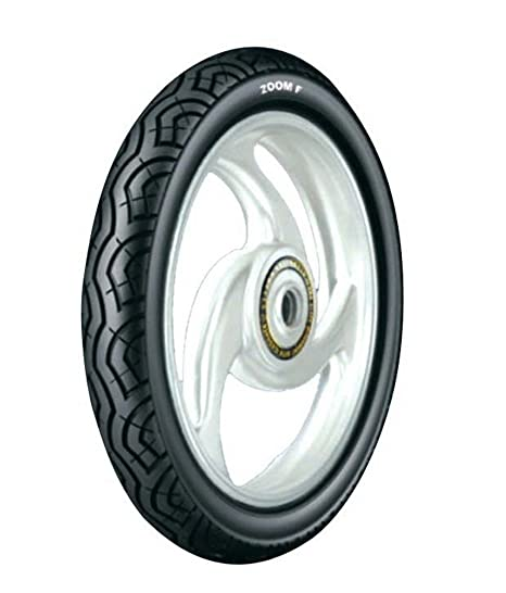 Ceat Zoom F 90/90-17 Tubeless Bike Tyre, Front (Home Delivery)