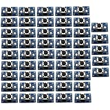 Optimus Electric 100pcs Mini Push Button Tactile Switch Module for Electronic Projects with Development Board from