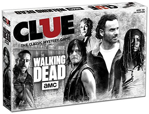 USAOPOLY AMC The Walking Dead Clue Game, Multicolor CL116-469