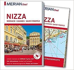 Altstadt Nizza Karte.Merian Live Reisefuhrer Nizza Monaco Cannes Saint Tropez