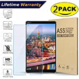 2-Pack Glass Screen Protector for Huawei MediaPad M5 8.4 inch Tablet(2018 Release Only) - DHZ 9H Hardness Scratch Resistant Anti-Bubble Premium Film Tempered Glass Screen Protector