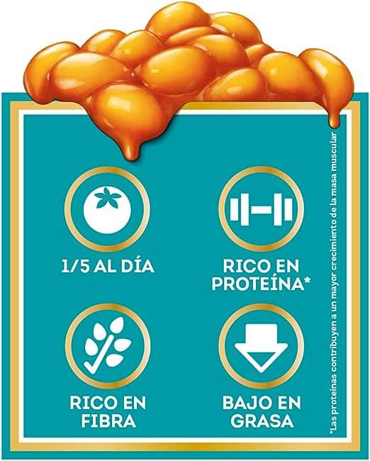 Heinz Baked Beans Platos Preparados , 430g: Amazon.es ...
