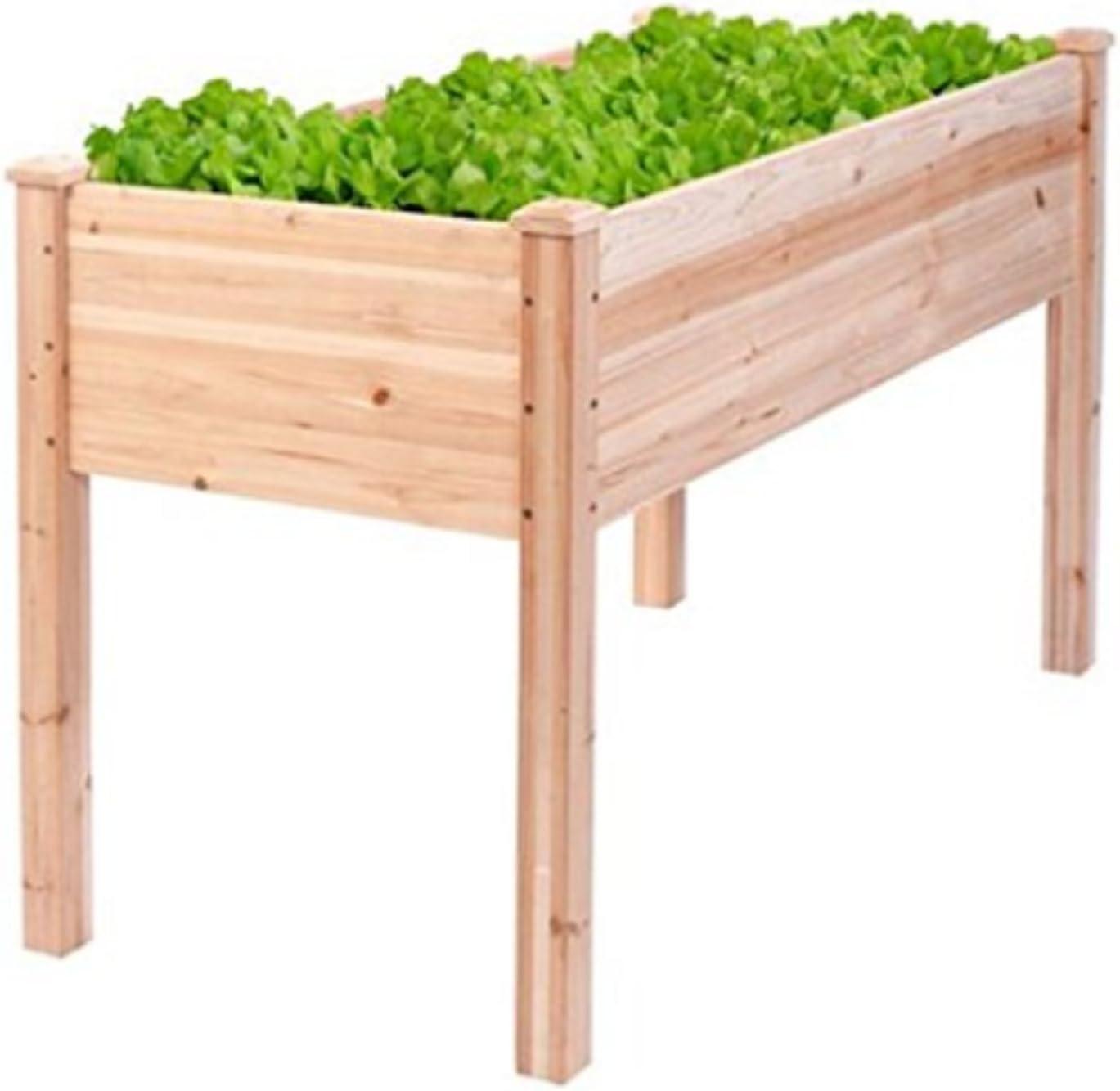 Estados Unidos Premium Store de madera Raised Vegetable Garden Kit ...
