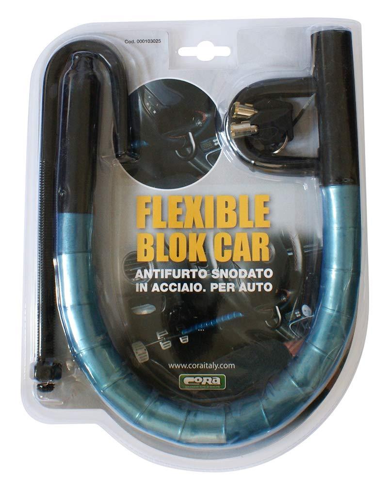 CORA 000103025 Flexible Block Car Antifurto Blocca-Volante//Pedali per Auto