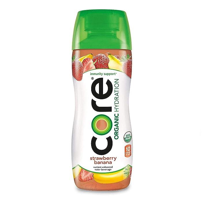 The Best Strawberry Banana Core Organic Beverage