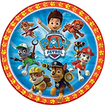 PAW Patrol Lunch Plates - Birthday and Theme Party Supplies - 8 per Pack - From Fun365