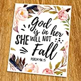 Props and frame are not included. This print artwork will boost up your faith each day. The word of God is another category of our artwork which you may use for house decoration.We believe that there is a power of the word which can change your feeli...